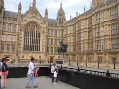 Richard Coeur de Lion devant le Parlement (Lisa7503) Tags: westminster londres grandebretagne
