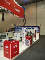 Oce Canon X-Board Exhibition Stand