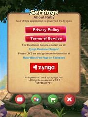 Ruby Blast (UX Examples (Mobile Games)) Tags: game ui settings ipad rubyblast