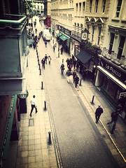 On the Street (derena_d.) Tags: life city people london flickr candid samsung streetlife fromabove explore tribute s3 londoncity lowrie explored challengegamewinner samsunggalaxys3 flickrandroidapp:filter=mammoth