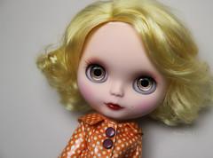 Monroe's handpainted metallic browns ;)