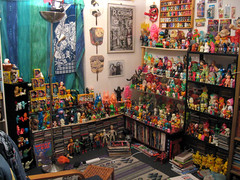 Toy Corner (The Moog Image Dump) Tags: man corner toy toys japanese collection cave kaiju sofubi