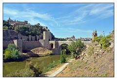 12.09.22.16.07.07 - Toledo, Puente de Alcntara (PROFI-LACK-TISCH) Tags: spain europa europe toledo spanien worldheritage weltkulturerbe