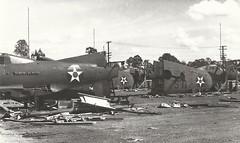 AMBERLEY P-39's (Dulacca.trains) Tags: fighter bell ww2 airforce usaf amberley usaaf pacificwar p39 airacobra usaac raafamberley