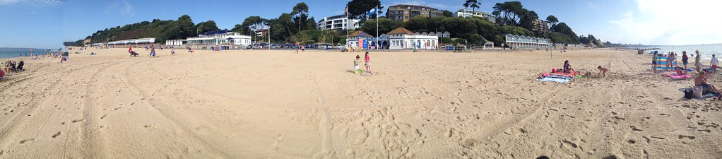 Branksome Chine Reverse Panorama