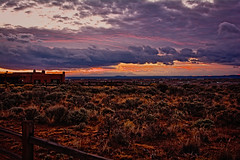 Taos sunset XX (Santa Fe -- Taos Fine Art Photography) Tags: sunset nikon tokina taos m35 bracketed d7100