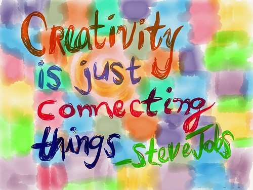 """Creativity is Just Connecting Things • <a style=""""font-size:0.8em;"""" href=""""http://www.flickr.com/photos/55284268@N05/11129014806/"""" target=""""_blank"""">View on Flickr</a>"""