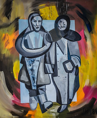 Martin Kippenberger - Two Proletarian Women Inventors on their Way to the Inventor's Congress, 1984 at Städel Art Museum Frankfurt Germany (mbell1975) Tags: two art museum modern germany painting way deutschland women gallery museu martin frankfurt fine arts musée musee m congress german 1984 museo their muzeum deutsch proletarian hesse beauxarts kippenberger müze gallerie inventors städel moderist museumuseum