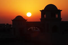 Mosque and Sunset (Benny2006) Tags: sunset mosque jeddah canon40d