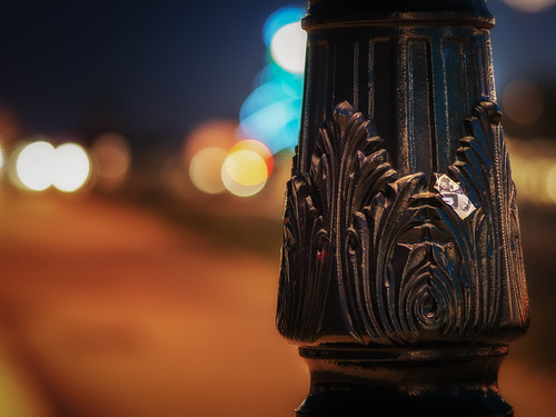 Bokeh in Bordeaux Streets