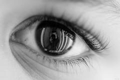 Eye am Noutyboy (@noutyboy (Instagram)) Tags: blackandwhite bw holland macro reflection eye netherlands monochrome closeup canon eos is focus dof zwartwit nederland thenetherlands 100mm l 28 f28 nieuwegein oog 550 reflectie browneye nout 550d detaills canon100mm28l eos550d noutyboy