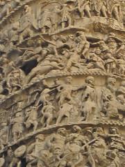Column of Marcus Aurelius, Rome, Italy (Robby Virus) Tags: plaza italy sculpture pope rome archaeology stone italian marcus roman ruin relief empire restored column piazza archaeological aurelius colonna sixtus