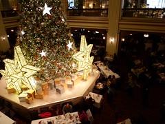 Macy's on State Street - Walnut Room (architekt2) Tags: macys statestreet walnutroom chicagochristmas