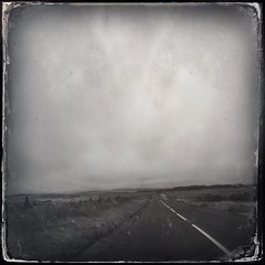 may your road rise up to meet you (a.c.thomas) Tags: england landscape devon tintype dartmoor iphoneography