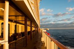Norwegian Breakaway Sunrise (Weiguo Jiang) Tags: cruise sunrise newjersey nikon december norwegian atlanticocean breakaway 2013 nikon2470mmf28 nikond800 weiguojiang norwegianbreakaway