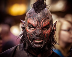 ORC (chrishullphotography) Tags: scary ugly orc carolinarenaissancefestival