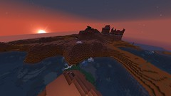 Sunset: Seen from the Red Tower with a Butte View (GumbyBlockhead) Tags: sunset beauty butte survival mesa redtower