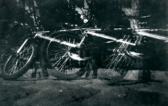 Das Rad - multiple exposure (GroJaqu) Tags: camera germany bayern exposure pinhole multiple gymnasium obscura lochkamera facharbeit mehrfachbelichtung seminararbeit mehrlochkamera