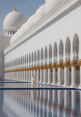 Domes, Arches and Reflections (bdmoore1) Tags: abudhabi unitedarabemirates