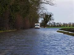 Aston Rowant, Oxfordshire (Oxfordshire Churches) Tags: uk england flooding unitedkingdom panasonic roadclosed oxfordshire floods iveco mft astonrowant brokendownvehicles b4009 ©johnward micro43 microfourthirds lumixgh3 flooding2014