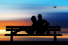 Saying goodbye is to welcome to a new beginning (Rui Almeida Photography) Tags: wallpaper silhouette backlight danger contraluz shadows background fineart creative nightshoot illusion romantic backlighting loveliness silhoeta