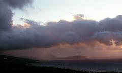 sunrise at Diamond Head (Leah Lovell Green) Tags: world travel sky film nature clouds zeiss sunrise 35mm photography hawaii oahu head earth hike diamond wanderlust adventure carl summit yashika landcsape
