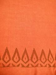 chanvre coton garance imprimee