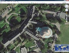 Ook op Google Earth in de steigers!