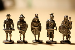 Toy Soldiers (mashapopovic) Tags: macro up lens toy bath close roman guard decoration figure soldiers
