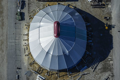 Theater Tent (Aerial Photography) Tags: by la theater tent aerial deu zelt oval luftbild landshut luftaufnahme bayernbavaria deutschlandgermany messegelände ndb fotoklausleidorfwwwleidorfde 24022014 5d367927