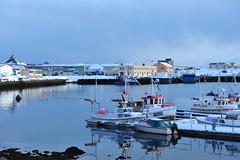 Vadsoe port march (GeirB,) Tags: winter mars norway port geotagged march harbor vinter nikon harbour norwegen noruega gps havn nordnorge finnmark vads northnorway gp1 varanger vadsoe vadso