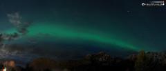 Aurora above Stamsund (dieLeuchtturms) Tags: 21x9 235x100 7x3 europa europe lofoten nacht nordland nordlicht norge norway norwegen panorama stamsund vestvågøya auroraborealis circular night northernlights