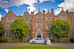 2 (HybridDave) Tags: wedding white love photography hotel groom bride photo couple photographer marriage sunny rollsroyce romance surrey suit hybrid manor marry bentley egham staines countryhouse whitedress greatfosters