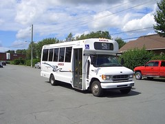 Amibus 10 Ford E450 Girardin minibus Granby, Quebec Canada 08152006 ©Ian A. McCord (ocrr4204) Tags: white canada bus ford quebec action casio vehicle pointandshoot mccord granby autobus blanc minibus qvr51 parabus girardin e450 amibus ianmccord ianamccord
