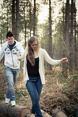 Follow me darling (GEHPhotos) Tags: portrait love woodland fun engagement couple rob demi phototype denmead canoneos6d creechwood ef2470mmf28usmii