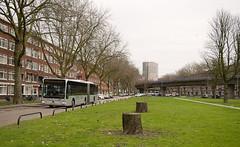 Connexxion 9254 (Metropendel) - Rotterdam (rvdbreevaart) Tags: ret metro rotterdam rotterdamzuid connexxion mercedesbenz mercedes citaro gelede bus openbaarvervoer publictransport öpnv nikon d3300 raw rawtherapee