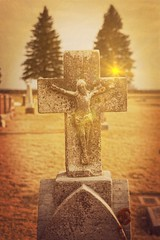 Sacrifice (Dave Linscheid) Tags: jesuschrist savior eternallife christian christianity faith religion cemetery texture textured martincounty mn minnesota usa toolwiz