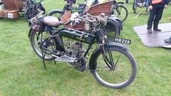 Reg: HR 228, Alldays Matchless Motorcycle (bertie's world) Tags: sunbeam pioneer run epsom downs 2017 reg hr228 alldays matchless motorcycle