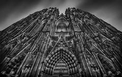 Cologne Cathedral III (RAM.style) Tags: germany köln kölnerdom dom cathedrale colognecathedral kirche church eglise ramstyle ramstylepictures darkstyle darkstylepictures nikon sw bw blackwhite schwarzweis monochrom cologne