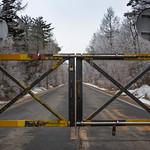 Road blocked at Mount Fuji thumbnail