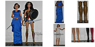 Diana Prince Doll ReviewComparasion