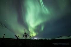 Northern Lights. (Geinis) Tags: nature northern northernlights norðurljós northerneurope night aurora auroraborealis snow star mountain mountains winter winterscapes canon canon70d iceland ísland
