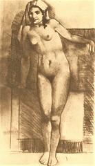 Armando García Nuñez (1893-1965) (gubama) Tags: armandogarcíanuñez pintor apunte sanguina dibujo mexicano 18831965 desnudo