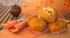 Arancine (vincenzob70) Tags: arancine arancini carne prosciutto sicilia sicily ricette siciliane