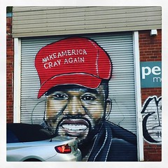 Make America cray again 365/96 #2017PAD (Hecuba's Story) Tags: instagramapp square squareformat iphoneography uploaded:by=instagram clarendon collingwood sackvillestreet 2017pad