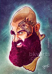 Kaashmora Karthi Caricature (BKV Arts) Tags: kashmora karthi karthick karthik actor sivakumar surya digitalart bkvarts caricature doodle tamil indian india cinema movie films