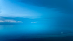 Infinite Blue (Michele Naro) Tags: blue bluehour trapani sicily sicilia sizilien sicile sea samyang14mmf28 nikond80 nikon italien italy italia italie iamnikon