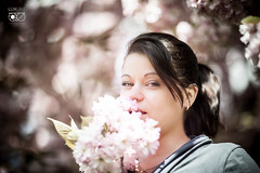 Franzi (bruderbethor) Tags: portrait leipzig zierkirschen blüten licht frühling