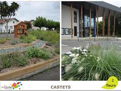 castets (Tourisme Landes) Tags: landes fleurs vvf