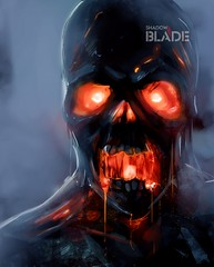 Zombie face (shadowbilgisayar) Tags: horror ghost undead devil halloween creepy expression skeleton demon zombie monster eyes dark fantasy illustration flame fear nightmare angry spooky skull dead fire bloody possessed evil death haunted art terror scary bizarre ukraine